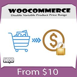 حذف محدوده قیمت در ووکامرس